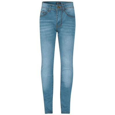 A2Z Trendz Kids Girls Skinny Jeans Designer's Light Blue Denim Stretchy Pants Fashion Fit Trousers New Age 5 6 7 8 9 10 11 12 13 Years