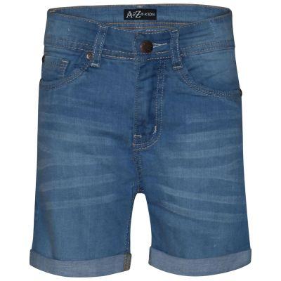 A2Z Trendz Kids Girls Shorts Bermuda Light Blue Skinny Jeans Hot Pants Summer Denim Chino Short Casual Hal Pant New Age 5 6 7 8 9 10 11 12 13 Years