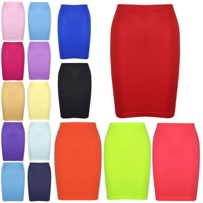 A2Z Trendz Gilrs Skirt Kids Plain Color School Fashion Dance Pencil Skirts New Age 7 8 9 10 11 12 13 Years