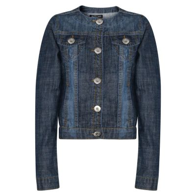 A2Z Trendz Kids Girls Denim Jackets Designer's Trendy Dark Blue Fashion Jeans Jacket Stylish Coats New Age 3 4 5 6 7 8 9 10 11 12 13 Years
