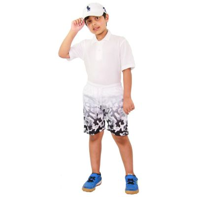 A2Z Trendz Kids Boys Girls Shorts Two Tone Camouflage Grey Chino Summer Short Casual Knee Length Half Pant New Age 3 4 5 6 7 8 9 10 11 12 13 Years