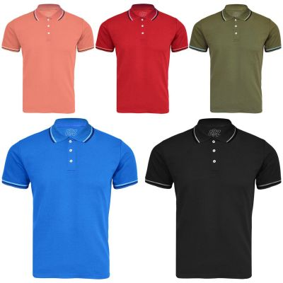 A2Z Trendz Kids Boys Girls Polo T Shirts Designer's Plain Color School T-Shirts PE Tops New Age 3 4 5 6 7 8 9 10 11 12 13 Years