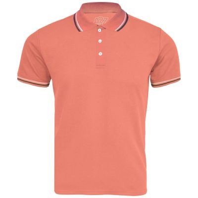 A2Z Trendz Kids Boys Girls Polo T Shirts Designer's Plain Peach Color School T-Shirts PE Tops New Age 3 4 5 6 7 8 9 10 11 12 13 Years