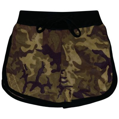 A2Z Trendz Kids Girls Shorts 100% Cotton Gym Dance Sports Trendy Fashion Camouflage Green Summer Hot Short Running Pants New Age 5 6 7 8 9 10 11 12 13 Years