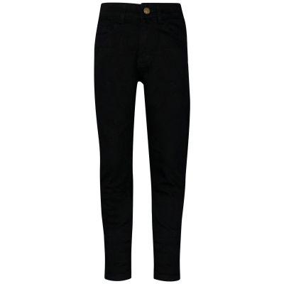 A2Z Trendz Kids Girls Skinny Jeans Designer's Jet Black Denim Stretchy Pants Fashion Fit Trousers New Age 5 6 7 8 9 10 11 12 13 Years