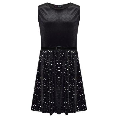 A2Z Trendz Girls Skater Dress Kids Splash Print Summer Party Fashion Dresses New Age 7 8 9 10 11 12 13 Years