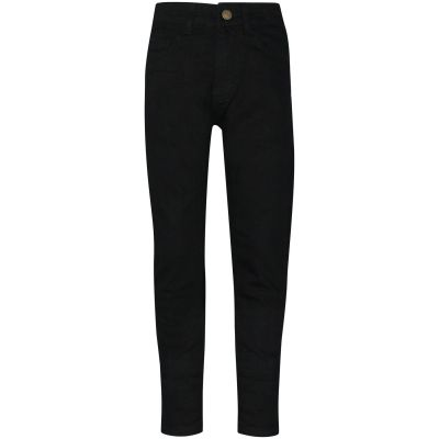 A2Z Trendz Kids Boys Skinny Jeans Designer's Jet Black Denim Stretchy Pants Fashion Fit Trousers New Age 5 6 7 8 9 10 11 12 13 Years