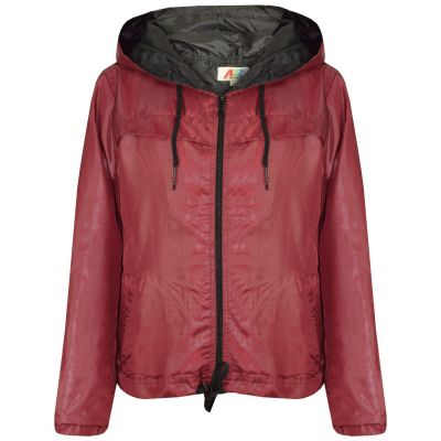 A2Z Trendz Girls Boys Raincoats Jackets Kids Wine Lightweight Kag Mac Waterproof Hooded Jacket Cagoule Rain Mac Age 5 6 7 8 9 10 11 12 13 Years
