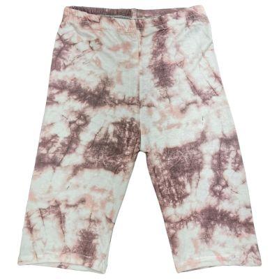 A2Z Trendz Kids Girls Cycling Shorts Tie Dye Print Stone Gym Dance Running Trendy Fashion Summer Short Knee Length Half Pant New Age 5 6 7 8 9 10 11 12 13 Years