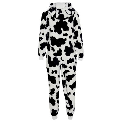 A2Z Trendz Kids Girls Boys Onesie Extra Soft Fluffy Cow All In One Halloween Costume New Age 7 8 9 10 11 12 13 14 Years