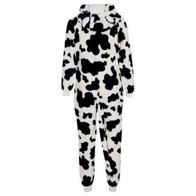 Kids Girls Boys Extra Soft Cow Onesie
