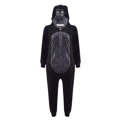 A2Z Trendz Kids Girls Boys Onesie Extra Soft Fluffy Gorilla All In One Halloween Costume New Age 7 8 9 10 11 12 13 14 Years