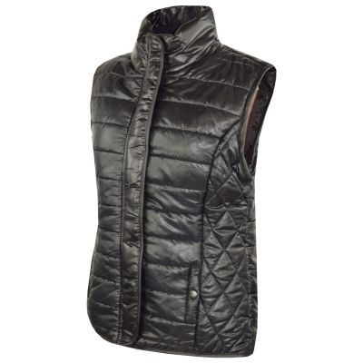 A2Z Trendz Kids Girls Boys Jacket Designer's Black Wet Look Sleeveless Padded Lined Quilted Gilet Bodywarmer Fashion Jackets Age 5 6 7 8 9 10 11 12 13 Years