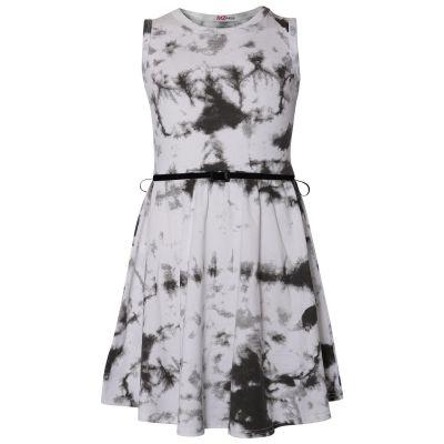 Girls Tie Dye Print Skater Dresses