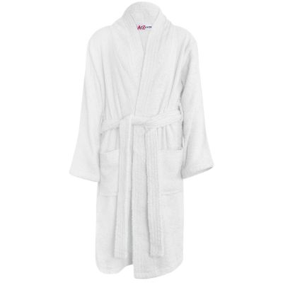 Girls Boys White Towel Bathrobe