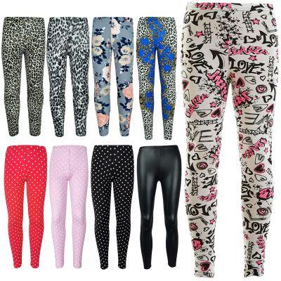 A2Z Trendz Kids Girls Leggings Designer's Stylish Party Fashion Trendy School Skinny Pants Legging New Age 7 8 9 10 11 12 13 Years