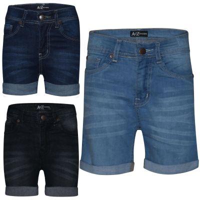 A2Z Trendz Kids Girls Shorts Bermuda Skinny Jeans Hot Pants Summer Denim Chino Short Casual Hal Pant New Age 5 6 7 8 9 10 11 12 13 Years