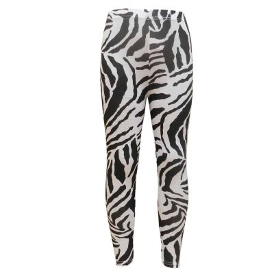Girls Legging Kids Animal Zebra Print Stylish Fashion Leggings 7 8 9 10 11 12 13 Years