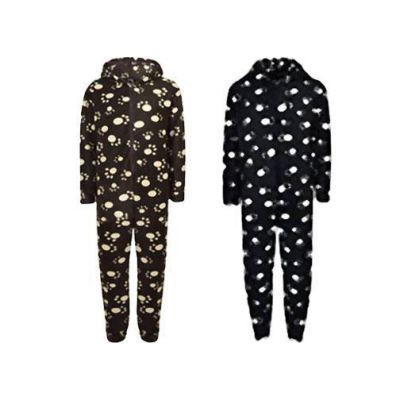 Unisex Kids Girls Boys Paw Print Hooded Stylish Fashion Onesie Age 2 3 4 5 6 Years