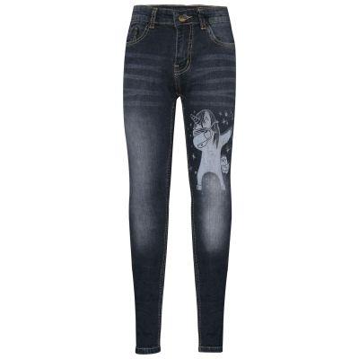 A2Z Trendz Kids Boys Jeans Designer's Unicorn Dab Denim Black Stretchy Pants Fashion Slim Fit Trousers New Age 3 4 5 6 7 8 9 10 11 12 13 14 Years
