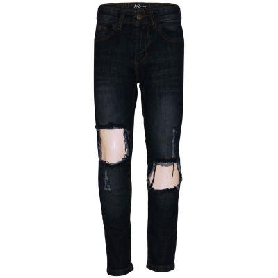 A2Z Trendz Kids Girls Skinny Ripped Jeans Designer's Black Denim Trendy Fashion Stretchy Jeggings Pants Stylish Slim Fit Trousers New Age 3 4 5 6 7 8 9 10 11 12 13 Years