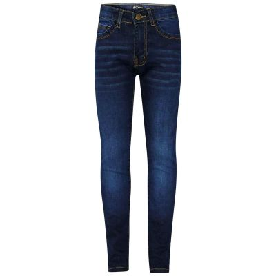 A2Z Trendz Kids Girls Skinny Jeans Designer's Dark Blue Denim Stretchy Pants Fashion Fit Trousers New Age 5 6 7 8 9 10 11 12 13 Years