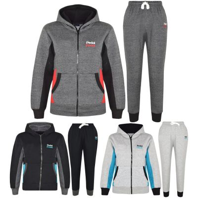 A2Z Trendz Kids Boys Girls Tracksuit Designer's Pedal Power Print Zipped Top Hoodie & Botom Jogging Suit Joggers New Age 5 6 7 8 9 10 11 12 13 Years