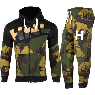Boys Girls Camouflage Khaki HNL Tracksuit