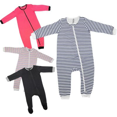 A2Z Trendz Kids Girls Boys Toddlers Romper Onesie Sleepsuit All In One Jumpsuit Playsuit Nightwear New Age 0 1 2 3 Years
