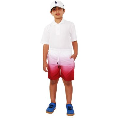 A2Z Trendz Kids Boys Girls Shorts Two Tone Wine Chino Summer Short Casual Knee Length Half Pant New Age 3 4 5 6 7 8 9 10 11 12 13 Years