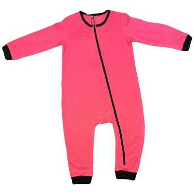 A2Z Trendz Kids Girls Boys Toddlers Romper Pink Onesie Sleepsuit All In One Jumpsuit Playsuit Nightwear New Age 0 1 2 3 Years