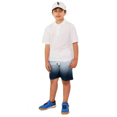 A2Z Trendz Kids Boys Girls Shorts Two Tone Navy Chino Summer Short Casual Knee Length Half Pant New Age 3 4 5 6 7 8 9 10 11 12 13 Years