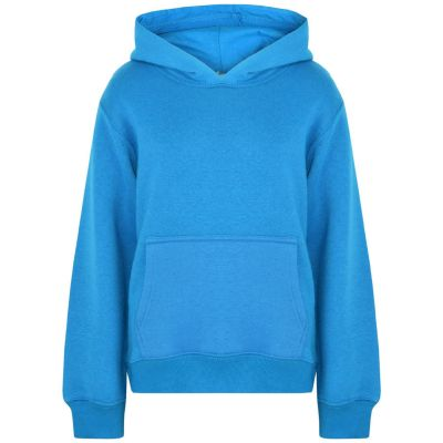A2Z Trendz Kids Girls Boys Sweat Shirt Tops Designer's Casual Plain Blue Pullover Sweatshirt Fleece Hooded Jumper Coats New Age 2 3 4 5 6 7 8 9 10 11 12 13 Years