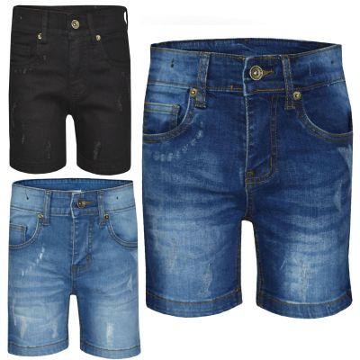A2Z Trendz Kids Boys Shorts Designer's Denim Ripped Chino Bermuda Jeans Shorts Casual Knee Length Half Pant New Age 5-13 Years