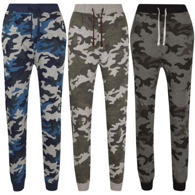 A2Z Trendz Kids Trouser Boys Girls Camouflage Print Joggers Jogging Pants Trackie Bottom Casual Trousers Age 7 8 9 10 11 12 13 Years