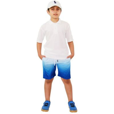 A2Z Trendz Kids Boys Girls Shorts Two Tone Royal Blue Chino Summer Short Casual Knee Length Half Pant New Age 3 4 5 6 7 8 9 10 11 12 13 Years