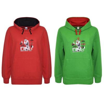A2Z Trendz Kids Hoodie Girls Boys Official Olaf Print Sweat Shirt Top Hoodies New Age 7 8 9 10 11 12 Years