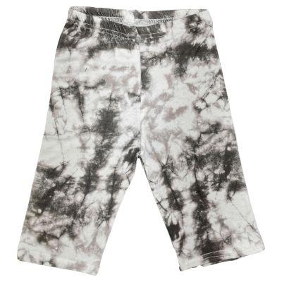 A2Z Trendz Kids Girls Cycling Shorts Tie Dye Print Grey Gym Dance Running Trendy Fashion Summer Short Knee Length Half Pant New Age 5 6 7 8 9 10 11 12 13 Years
