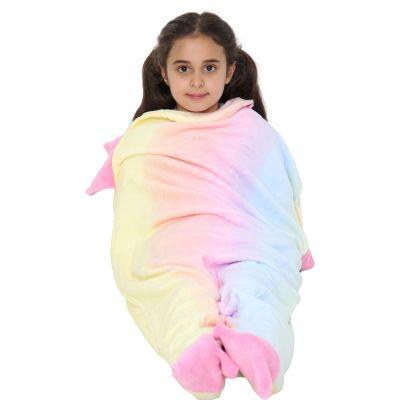 A2Z Trendz Kids Blanket Unicorn Soft Fleece Blankets Sleeping Bag Fancy Dresses One Size