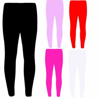 KIDS GIRLS THICK COTTON STRETCH ANKLE LENGTH SCHOOL FASHION LEGGING 2-13 YEARS