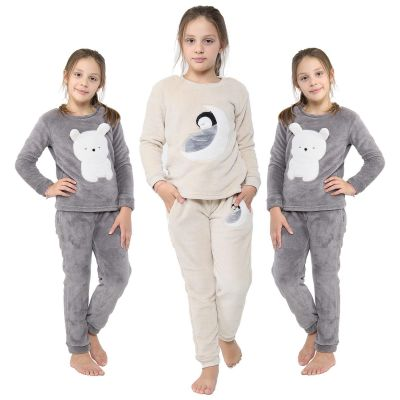 A2Z Trendz Kids Girls Boys Pyjamas Extra Soft Loungewear Sleepwear Flannel Fleece Trendy Fashion Outfit Sets Nightwear PJS New Age 2 3 4 5 6 7 8 9 10 11 12 13 Years