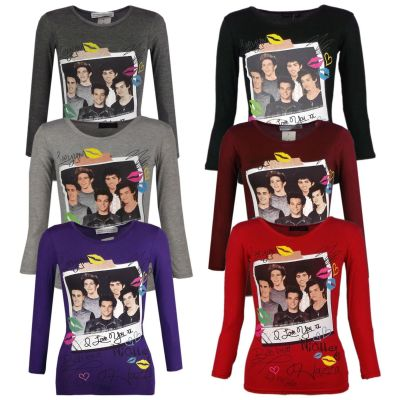 A2Z Trendz Kids Girls One Direction T Shirts Designer's Party Fashion Summer T-Shirt Soft Feel Tank Top & Tees Casual Tops New Age 7 8 9 10 11 12 13 Years