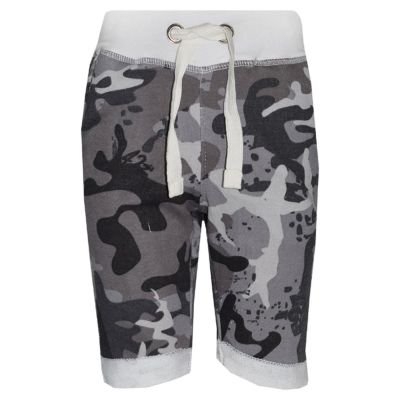 A2Z Trendz Boys Summer Shorts Kids Fleece Camouflage Print Chino Shorts Knee Length Half Pant New Age 3-13 Years