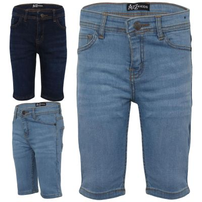 Boys Bermuda Skinny Denim Shorts