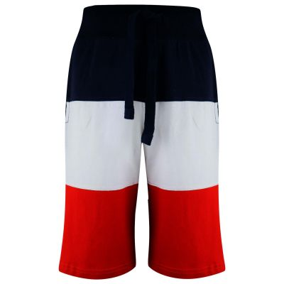 A2Z Trendz Kids Boys Shorts Contrast Panelled Summer 100% Cotton Jersey Chino Short Casual Knee Length Half Pant New Age 5 6 7 8 9 10 11 12 13 Years