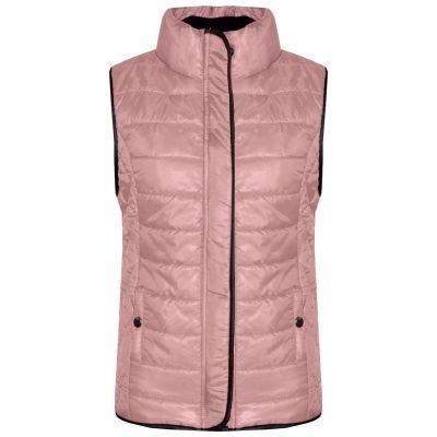 Girls Boys Unisex Wet Look Sleeveless Padded Gilet Jacket