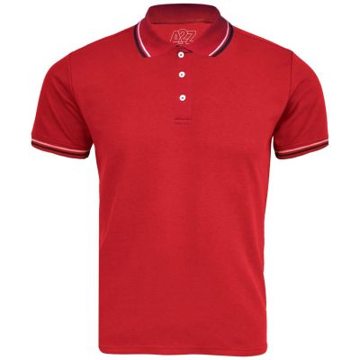 A2Z Trendz Kids Boys Girls Polo T Shirts Designer's Plain Red Color School T-Shirts PE Tops New Age 3 4 5 6 7 8 9 10 11 12 13 Years