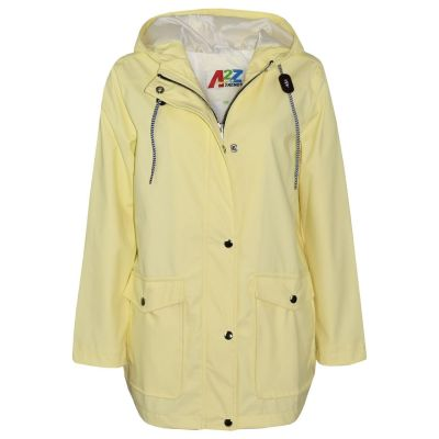 A2Z Trendz Kids Girls Boys PU Raincoat Jackets Designer's Lemon Windbreaker Waterproof Cagoule Hooded Rainmac Shower Resistant Coats Age 5 6 7 8 9 10 11 12 13 Years