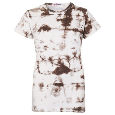 Girls Tie Dye Print T Shirts