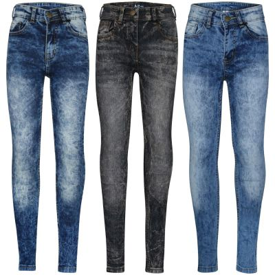 A2Z Trendz Kids Boys Stretchy Jeans Designer's Tie Dye Denim Skinny Pants Fashion Slim Fit Trousers New Age 5 6 7 8 9 10 11 12 13 14 Years